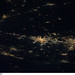 Baltimore-Washington, D.C. Area at Night (NASA, International Space Station, 11/30/10)