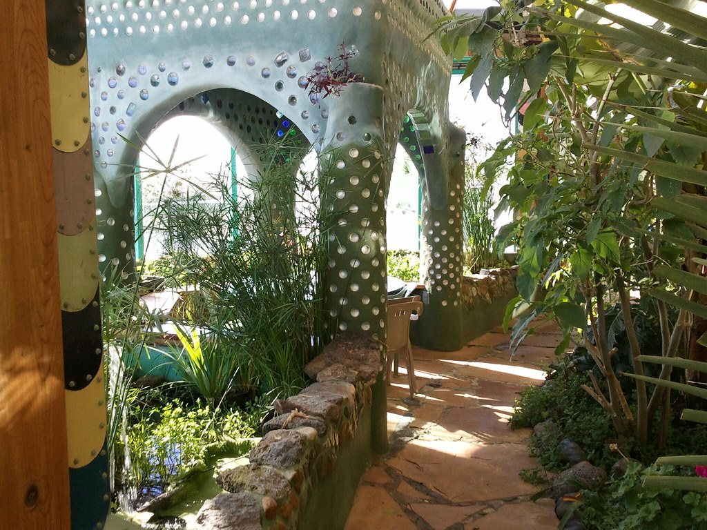 taos vacation phoenix earthship outer greenhouse of the p flickr. Black Bedroom Furniture Sets. Home Design Ideas