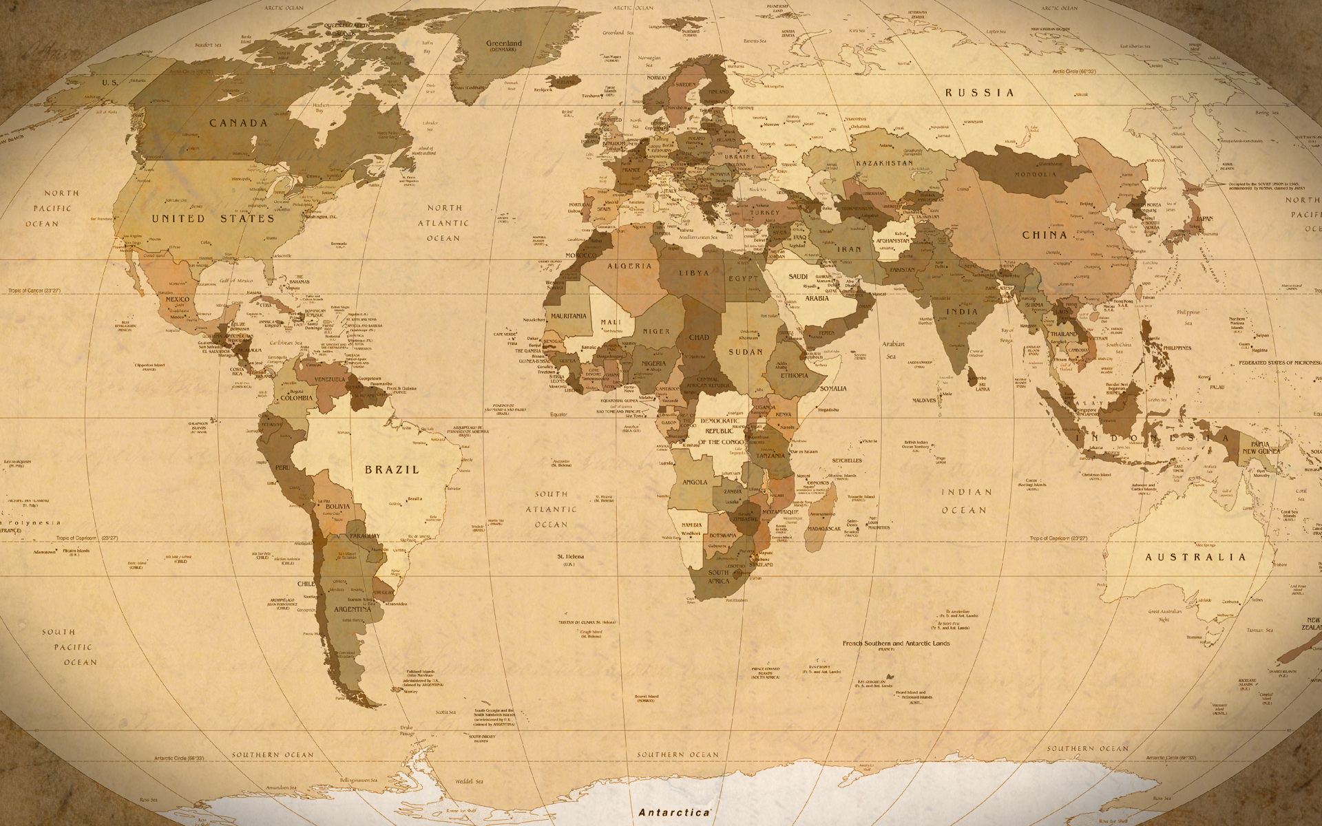 All sizes world map parchment wallpaper 1920x1200 outdated download download the original size of this photo gumiabroncs Gallery