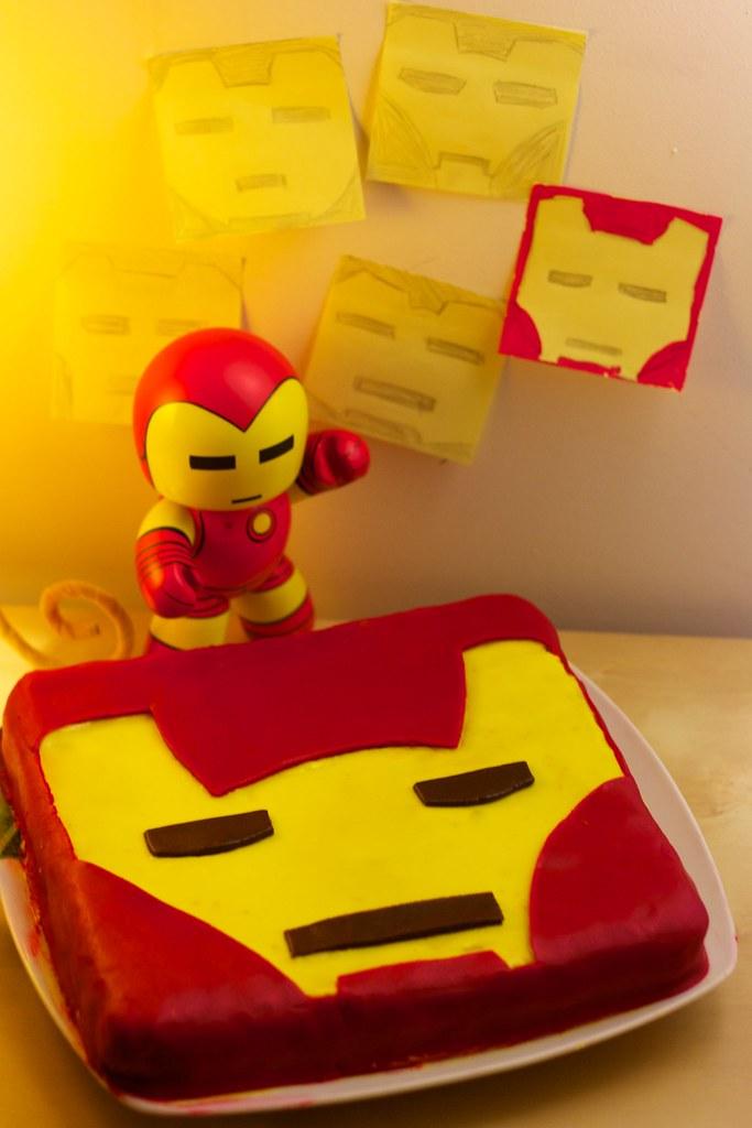 Iron Man Cake | maxime...