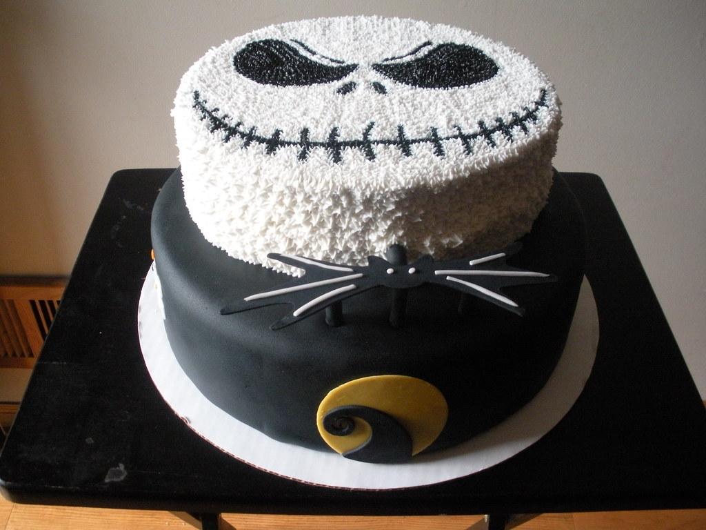 JACK SKELLINGTON CAKE 2 | YARED DELEON | Flickr