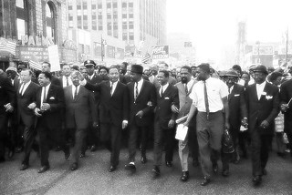 Martin Luther King Jr, Walk to Freedom Detroit Michigan, 1963 | by farlane