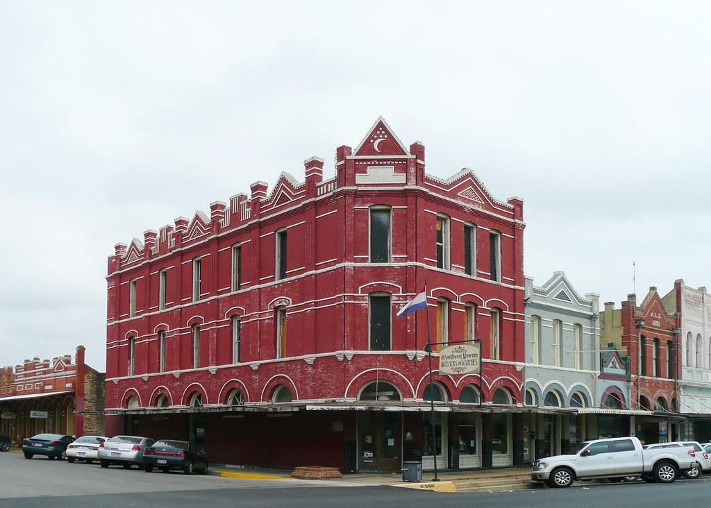 Lockhart Tx Brock Building From Thc The Brock