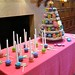 Candy Cupcake Tower