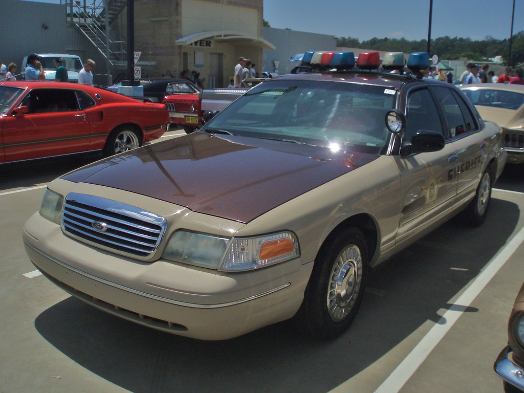Ford Sheriff S Car