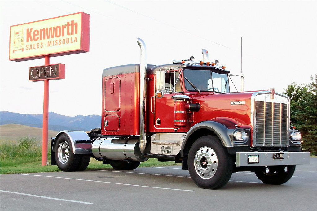 1965 White 4000 Semi Tractor : Kenworth w a hp klintan flickr