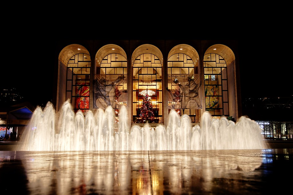 The Holidays At Lincoln Center Lincoln Center Jeremy Seto Flickr