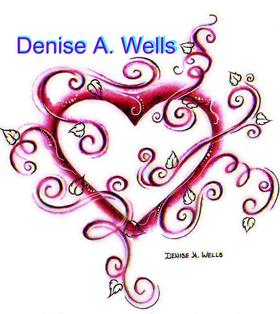 Girly Heart Tattoo Design ♥♥♥ Happy Valentines Day