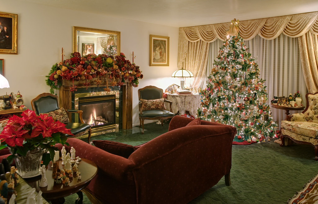Home Interior Christmas Decorations Merry Christmas Fro Flickr