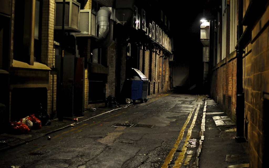 Manchester alleyway copyright c stuart herbert blog for Balcony meaning in english