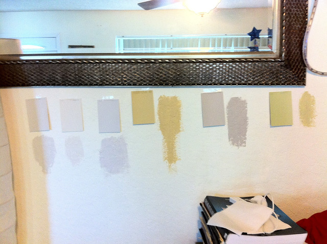 Paint Samples For The Living Room