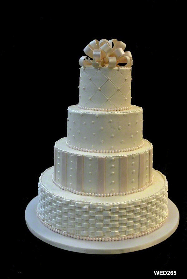 Square Cake Designs Weddings