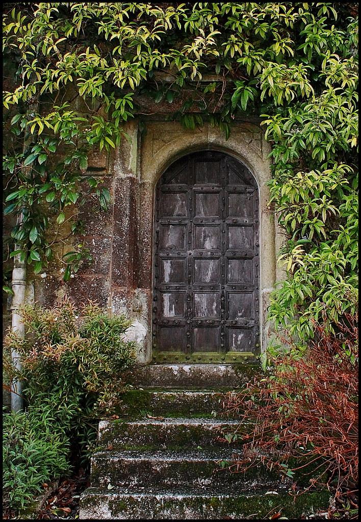 Secret Garden Explored Found This Door At Lanhydrock
