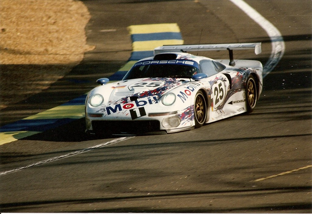 porsche 911 gt1 le mans 1996 hans joachim stuck at the w flickr. Black Bedroom Furniture Sets. Home Design Ideas