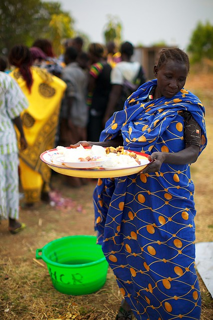 Homemade food for sale in Africa