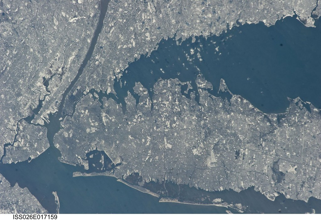 New York City in Winter (NASA, International Space Station ...