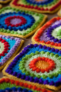 Colorful Crochet | by MossyOwls