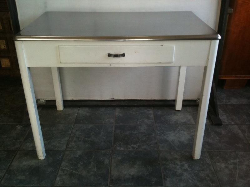 193039s art deco kitchen table 193039s art deco steel top for 1930 kitchen table