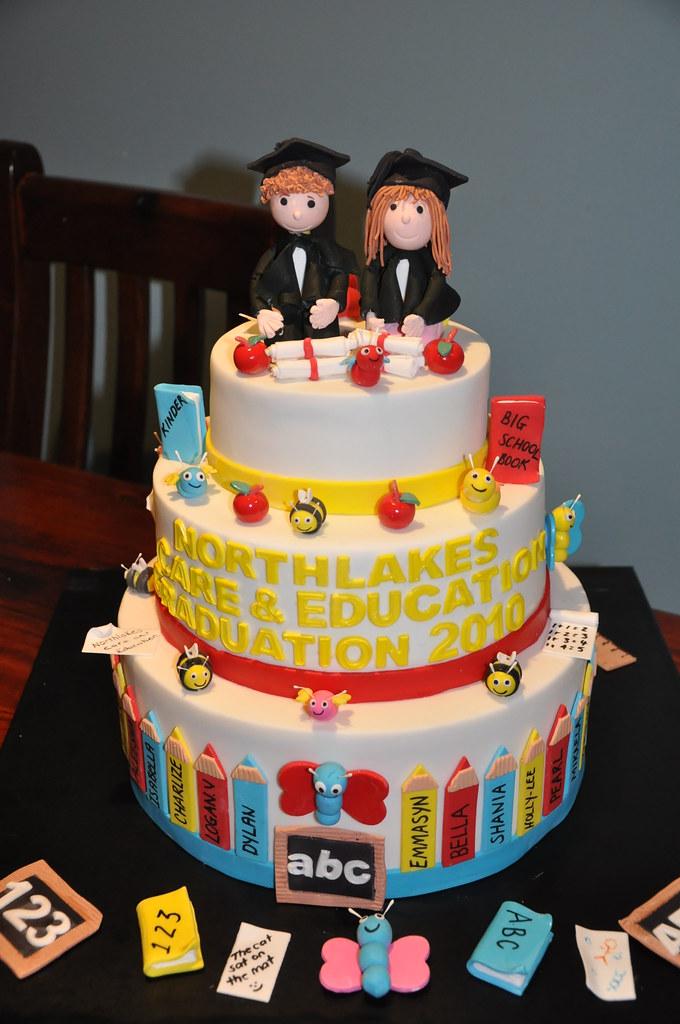 Graduation Cakes School Logo