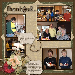 Thanksgiving 2010  pg 1 | by Kathy 28