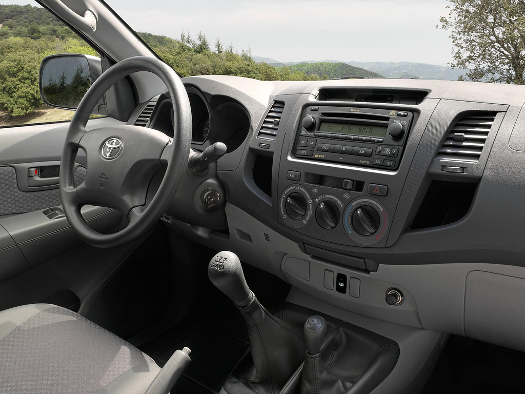 Toyota Hilux 2010 Interior Toyota Motor Europe Flickr