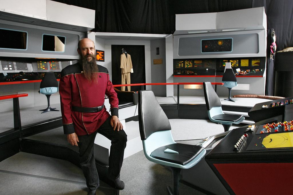 Raumschiff Enterprise Brücke Vom Raumschiff Enterprise