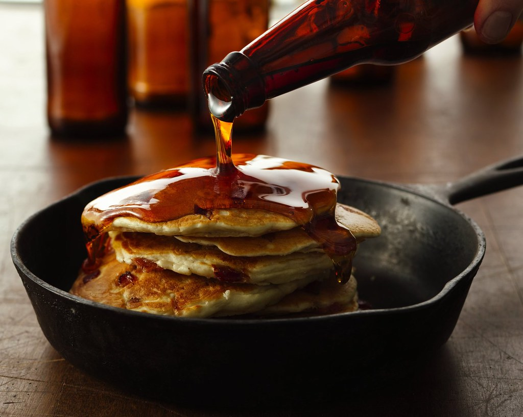 Beer and Bacon Mancakes Recipe | INGREDIENTS: 1/2 lb bacon ...