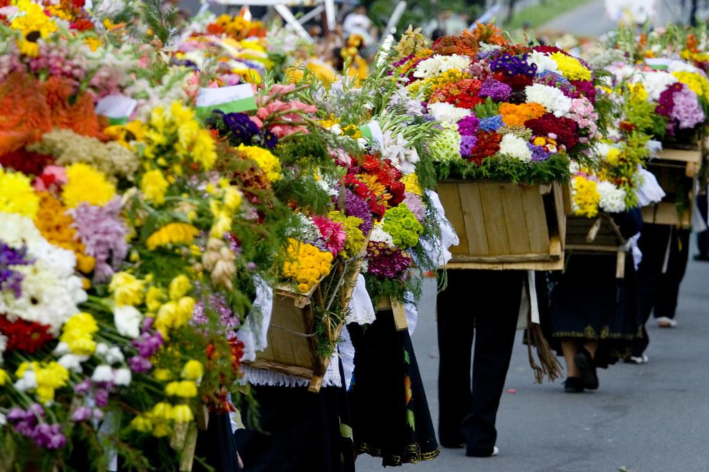 silleteras medellin feria de las flores