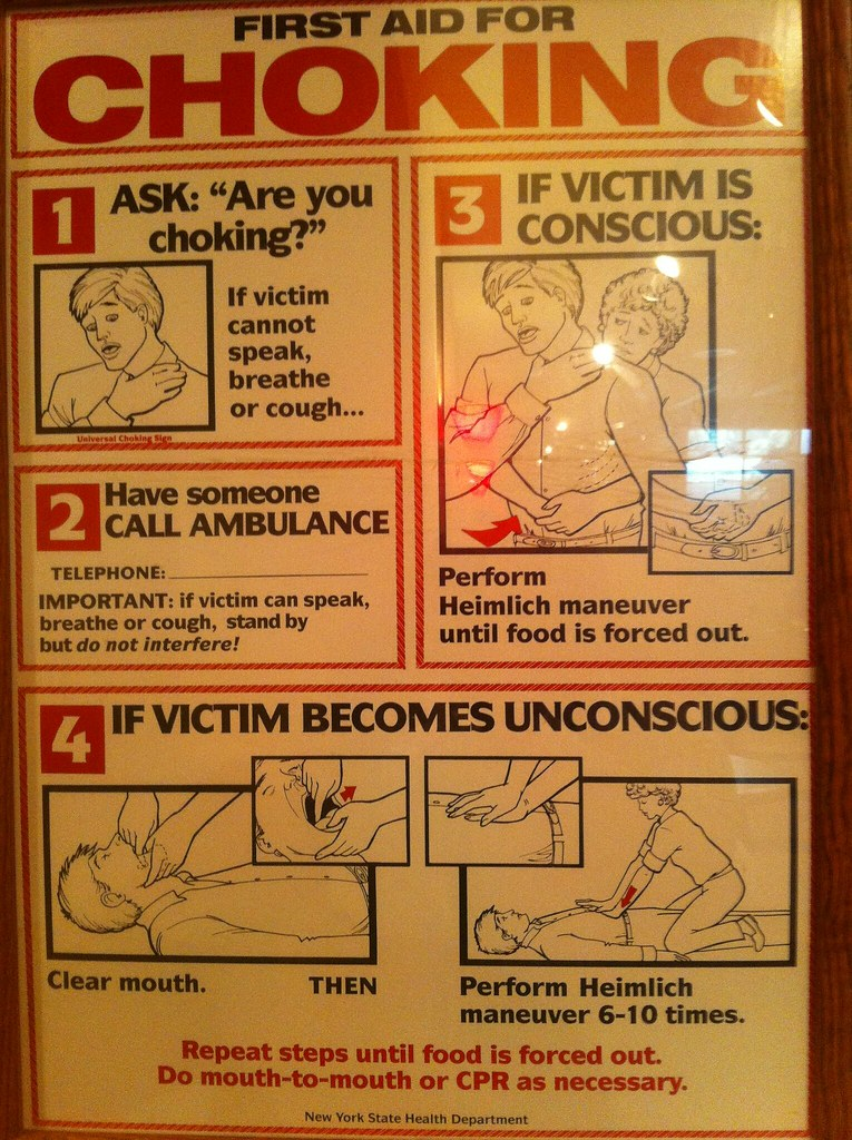 Choking Sign For Restaurant New Jersey
