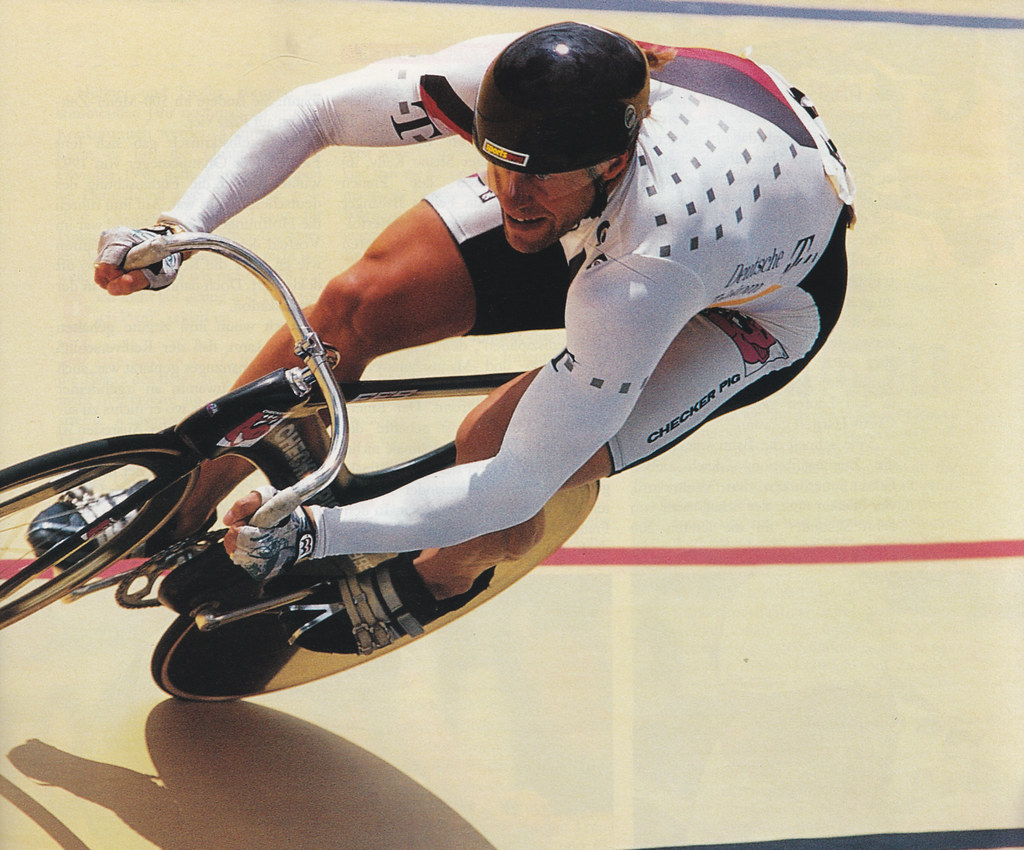 Michael Hübner | 1995 UCI Track Cycling World ...