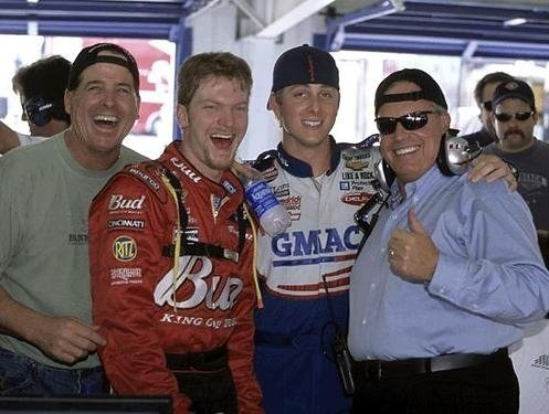 Dale jr with ricky and rick hendricks   tiger012081   Flickr