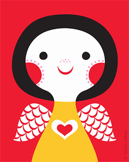Love Angel | by Flora Chang | Happy Doodle Land