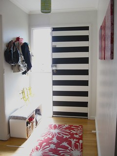 Entry: Stripe front door | by Ninaribena1