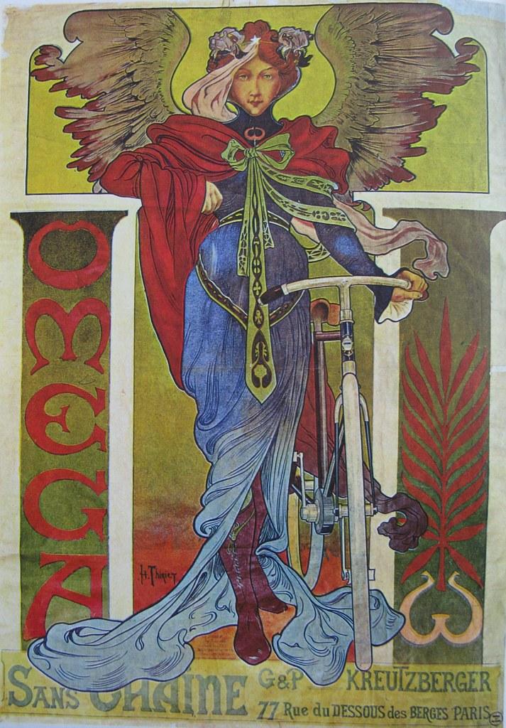 Vintage Bicycle Posters: Omega