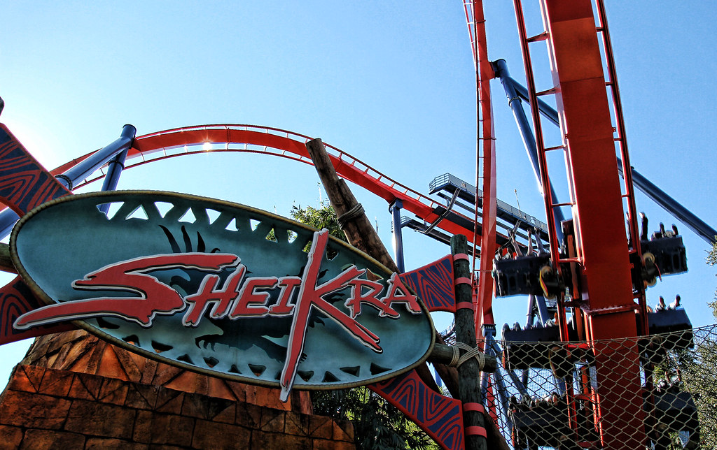 Sheikra in busch gardens tampa fl at the entrance of she flickr for New rollercoaster at busch gardens