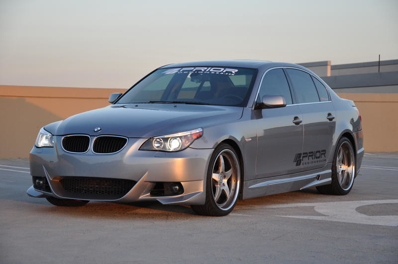 bmw e60 5 series body kit by prior design bmw e60 5. Black Bedroom Furniture Sets. Home Design Ideas