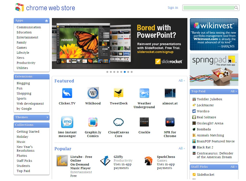 how to put an app on the chrome web store