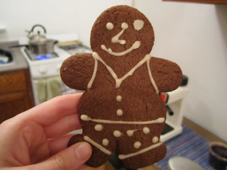 Vegan Gingerbread Man | by veganbackpacker