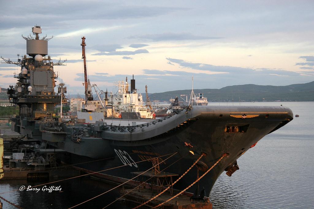 russian aircraft carrier admiral kuznetsov  cv 063