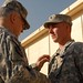 Spc Robinson receives Silver Star from CSA