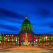 San Francisco City Hall Christmas Light 2010