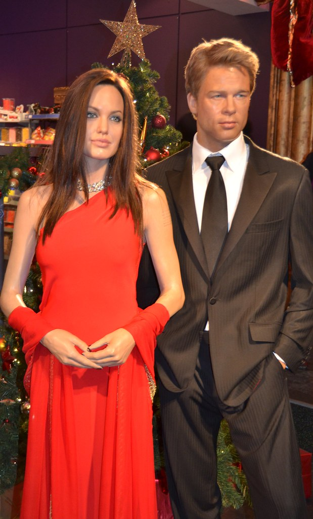 Madame Tussauds - London | Angelina Jolie and Brad Pitt ... Angelina Jolie And Brad Pitt
