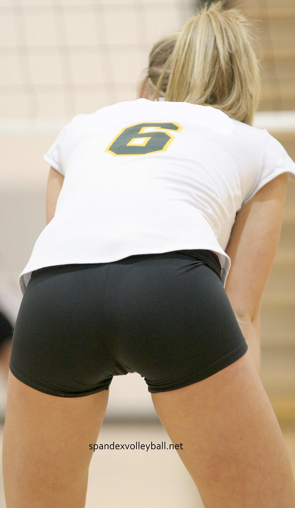Black Spandex Volleyball Shorts  Jshmoe84  Flickr-1413