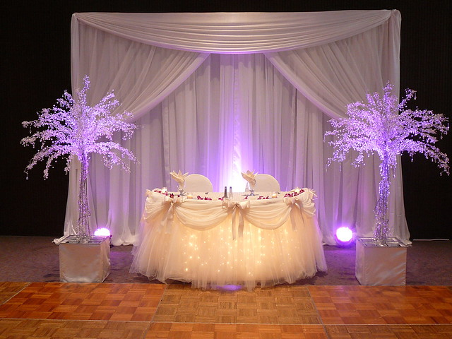 Sweetheart Or Head Table Decor By SBD EVENTS