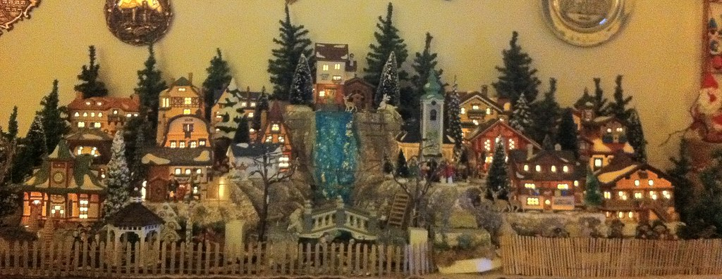 Mom's Department 56 Alpine Christmas Village | ERIC SEILER ...