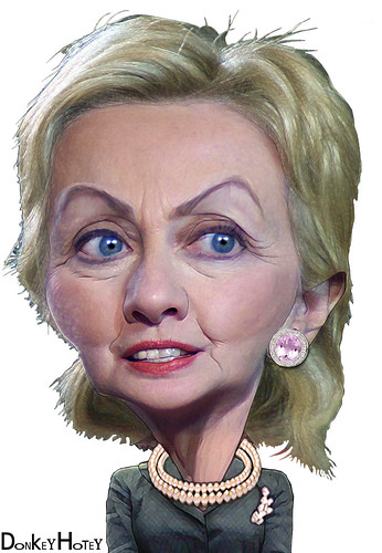 Hillary Cli Ton Natural Hair Color