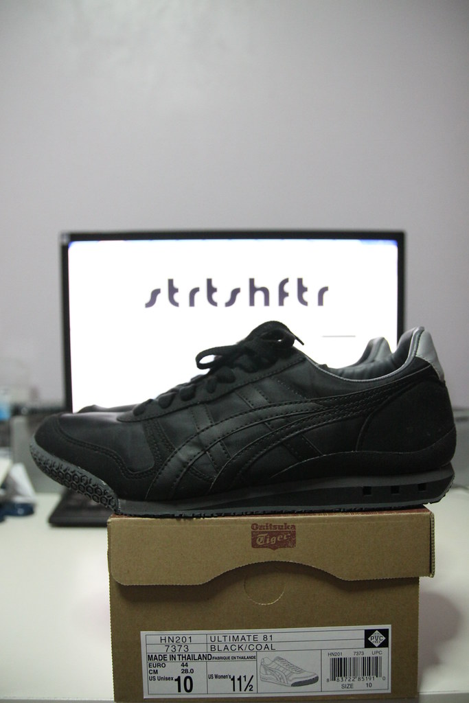 onitsuka tiger ultimate 81 black coal