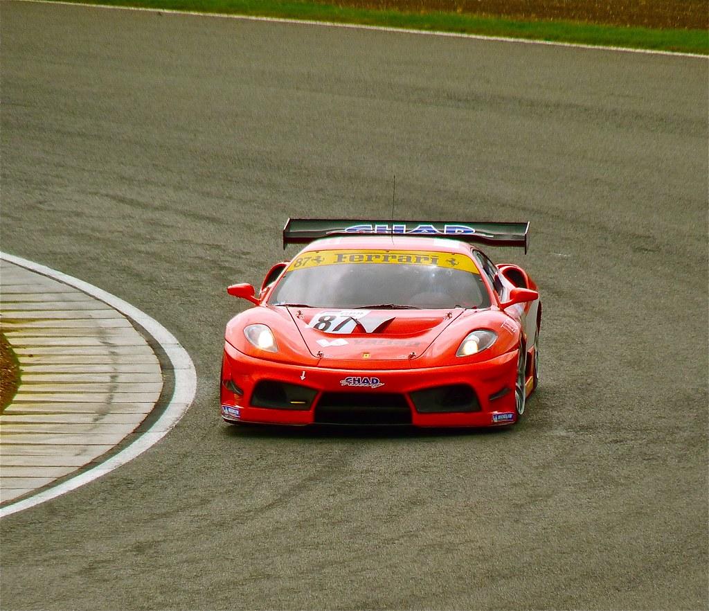 Cenário 3d Ferrari F430 Modelo 3d: FIA GT3 Ferrari F430 CS