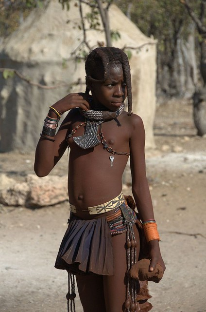 Himba Girl  Flickr - Photo Sharing-3560