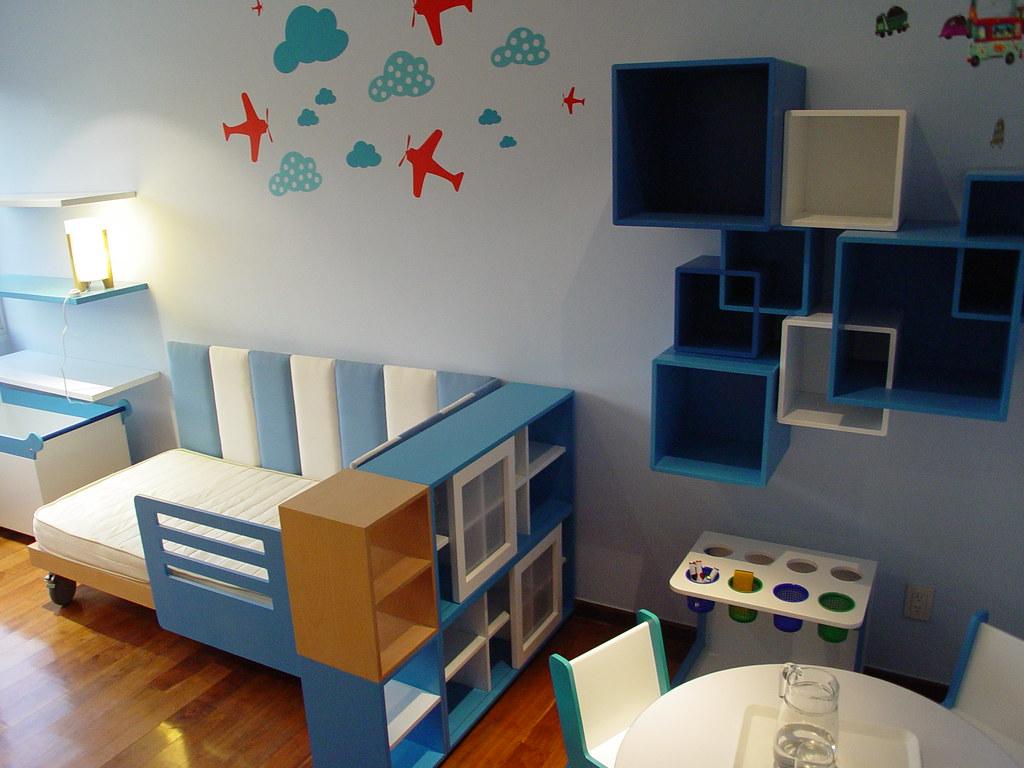 Dise o y fabricacion de muebles de ni os dise o y - Habitacion 3 ninos ...